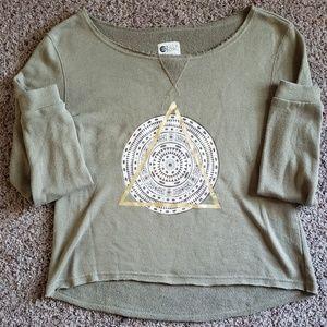 Billabong pyramid sweatshirt